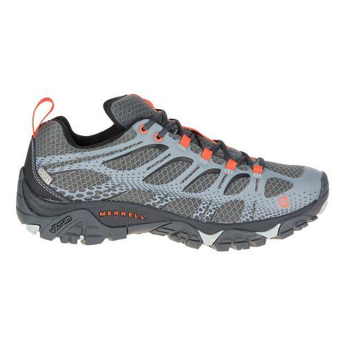Mens Merrell Moab Edge Waterproof Hiking Shoe - Grey 8