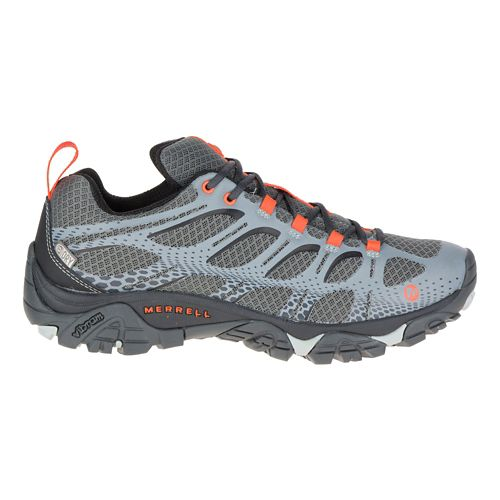 Mens Merrell Moab Edge Waterproof Hiking Shoe - Grey 9