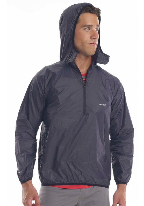 Altra Packable Windbreaker Running Jackets - Blue XS