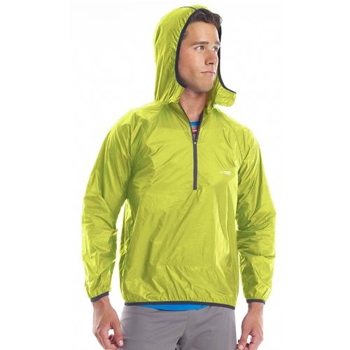 Altra Packable Windbreaker Running Jackets - Lime M