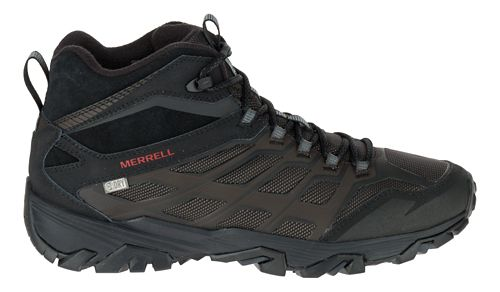 Mens Merrell Moab FST Ice+ Thermo Hiking Shoe - Black 10