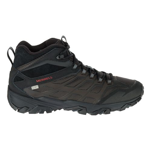 Mens Merrell Moab FST Ice+ Thermo Hiking Shoe - Black 10.5