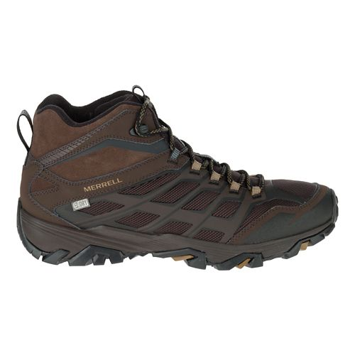 Mens Merrell Moab FST Ice+ Thermo Hiking Shoe - Espresso 10.5
