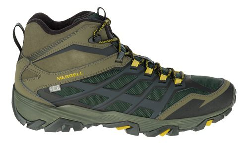 Mens Merrell Moab FST Ice+ Thermo Hiking Shoe - Pine Grove/Olive 10.5