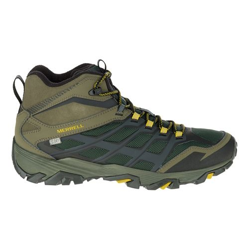 Mens Merrell Moab FST Ice+ Thermo Hiking Shoe - Pine Grove/Olive 15