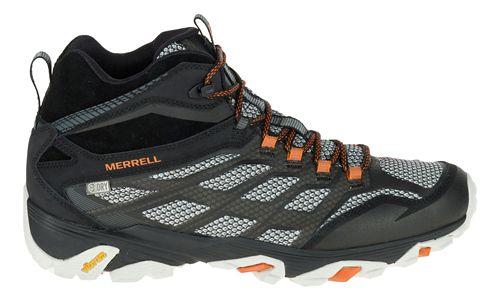 Mens Merrell Moab FST Mid Waterproof Hiking Shoe - Black 10