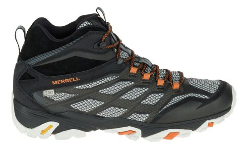 Mens Merrell Moab FST Mid Waterproof Hiking Shoe - Black 11.5