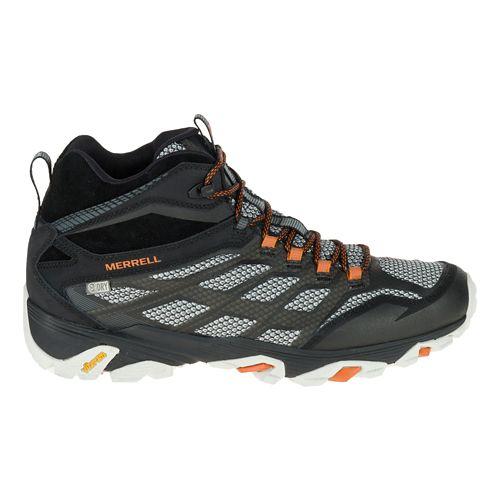 Mens Merrell Moab FST Mid Waterproof Hiking Shoe - Black 9