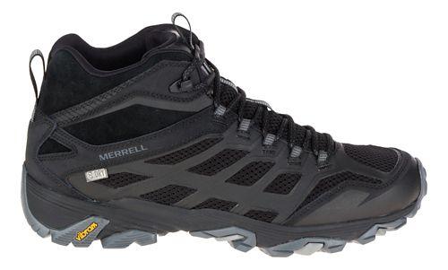 Mens Merrell Moab FST Mid Waterproof Hiking Shoe - Noire 11.5