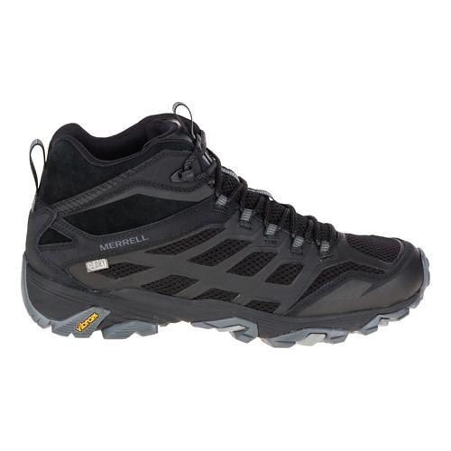 Mens Merrell Moab FST Mid Waterproof Hiking Shoe - Noire 9