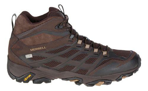 Mens Merrell Moab FST Mid Waterproof Hiking Shoe - Black 7.5