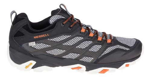 Mens Merrell Moab FST Waterproof Hiking Shoe - Black 8.5