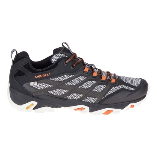 Mens Merrell Moab FST Waterproof Hiking Shoe - Black 13
