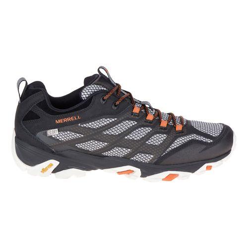 Mens Merrell Moab FST Waterproof Hiking Shoe - Black 8