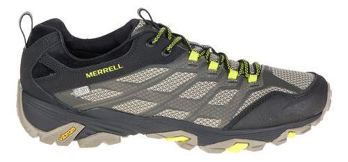 Mens Merrell Moab FST Waterproof Hiking Shoe - Olive Black 10.5