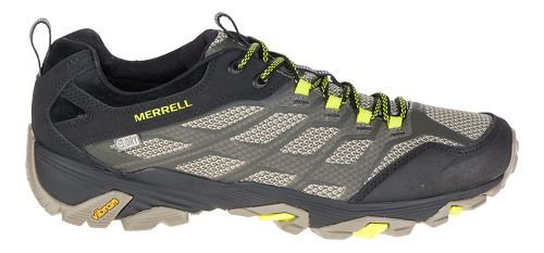 Mens Merrell Moab FST Waterproof Hiking Shoe - Olive Black 14