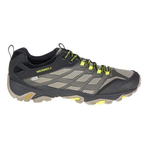 Mens Merrell Moab FST Waterproof Hiking Shoe - Olive Black 11