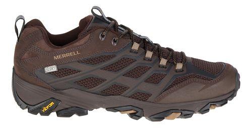 Mens Merrell Moab FST Waterproof Hiking Shoe - Olive Black 14