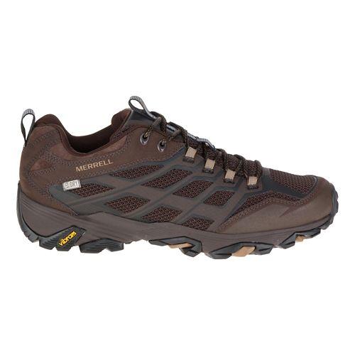 Mens Merrell Moab FST Waterproof Hiking Shoe - Olive Black 10