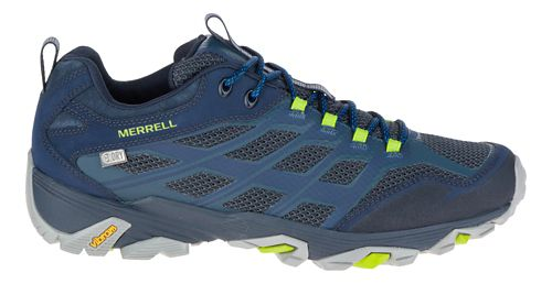 Mens Merrell Moab FST Waterproof Hiking Shoe - Navy 7.5