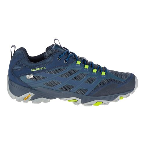 Mens Merrell Moab FST Waterproof Hiking Shoe - Navy 14