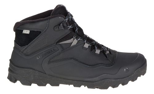 Mens Merrell Overlook 6 Ice+ Waterproof Hiking Shoe - Black 11