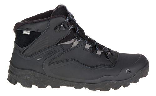 Mens Merrell Overlook 6 Ice+ Waterproof Hiking Shoe - Black 7.5