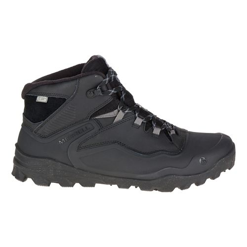 Mens Merrell Overlook 6 Ice+ Waterproof Hiking Shoe - Black 11.5