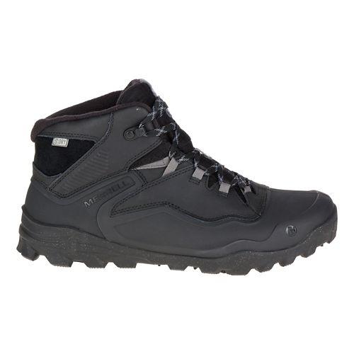 Mens Merrell Overlook 6 Ice+ Waterproof Hiking Shoe - Black 12