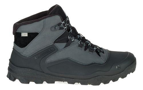Mens Merrell Overlook 6 Ice+ Waterproof Hiking Shoe - Black 8.5