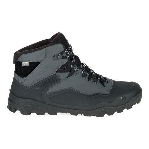 Mens Merrell Overlook 6 Ice+ Waterproof Hiking Shoe - Black 8.5