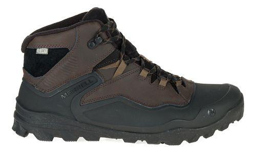Mens Merrell Overlook 6 Ice+ Waterproof Hiking Shoe - Espresso 7.5