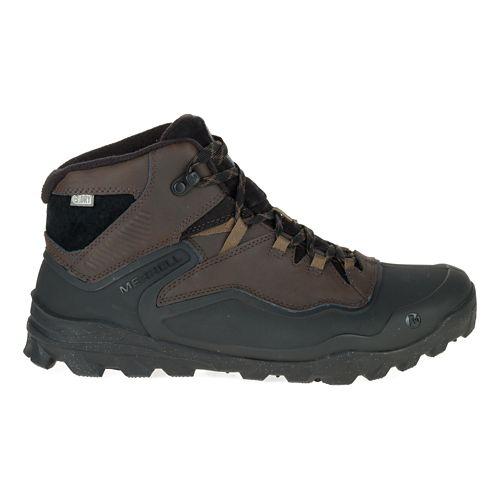 Mens Merrell Overlook 6 Ice+ Waterproof Hiking Shoe - Espresso 12