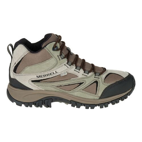 Mens Merrell Phoenix Bluff Mid Waterproof Hiking Shoe - Putty 10.5