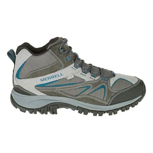 Mens Merrell Phoenix Bluff Mid Waterproof Hiking Shoe - Grey 9.5
