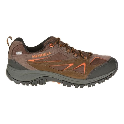 Mens Merrell Phoenix Bluff Waterproof Wide Hiking Shoe - Dark Brown 7.5