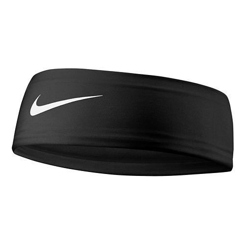 Nike Girls Fury Headband 2.0 Headwear - Black/White