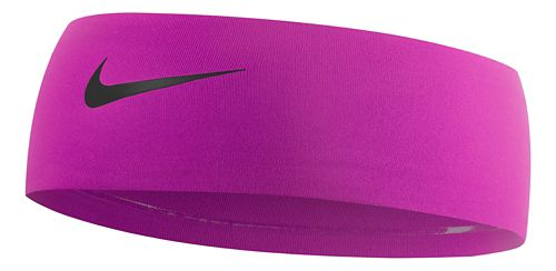 Nike Girls Fury Headband 2.0 Headwear - Vivid Pink/Black