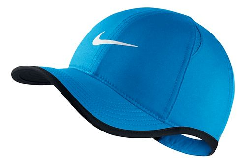 Nike Kids Featherlight Adjustable Hat Headwear - Light Photo Blue