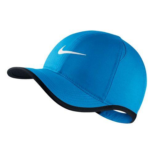 Nike Kids Featherlight Adjustable Hat Headwear - Light Photo Blue