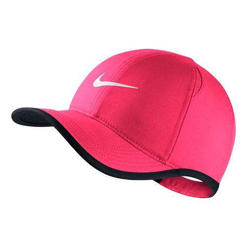 Nike Kids Featherlight Adjustable Hat Headwear - Hyper Pink/Black