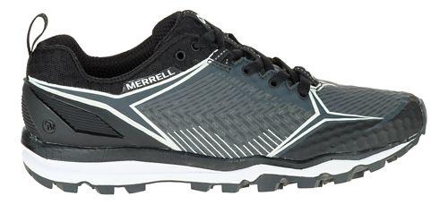 Womens Merrell All Out Crush Shield Trail Running Shoe - Black/Granite 10