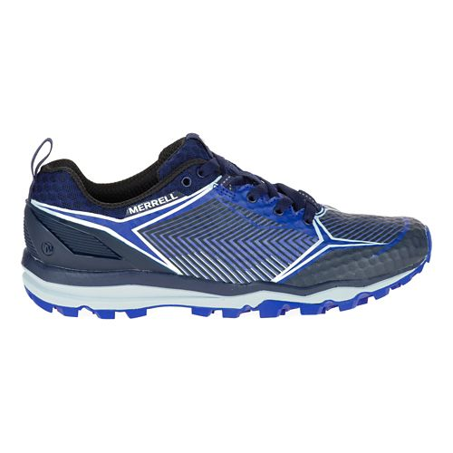 Womens Merrell All Out Crush Shield Trail Running Shoe - Surf The Web 8