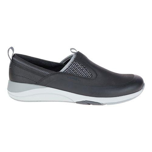 Womens Merrell Applaud Moc Casual Shoe - Black 6.5