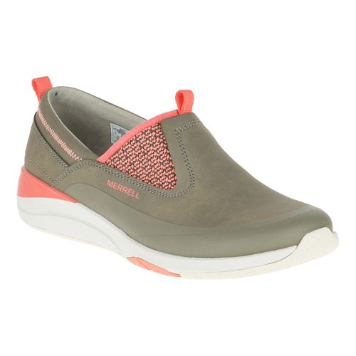 Womens Merrell Applaud Moc Casual Shoe - Brindle 11