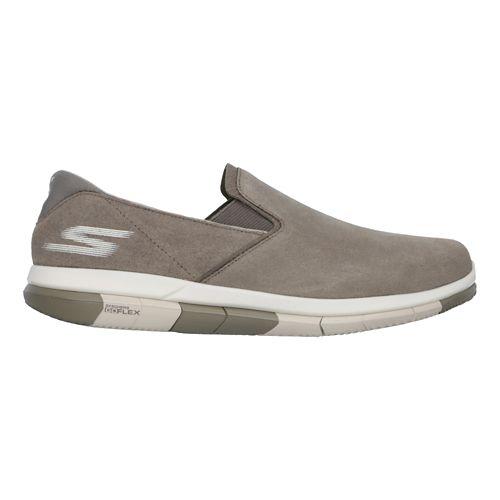 Mens Skechers GO Flex Casual Shoe - Khaki 8.5