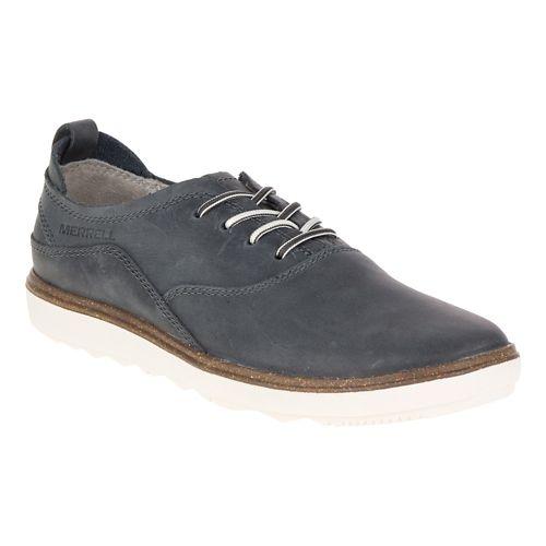 Womens Merrell Around Town Lace Casual Shoe - Granite 6