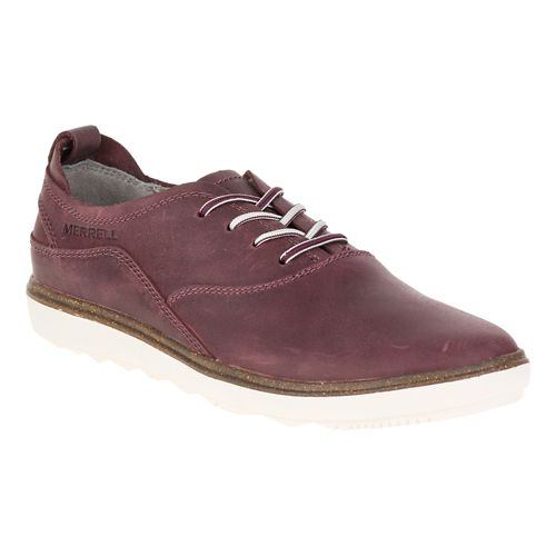 Womens Merrell Around Town Lace Casual Shoe - Huckleberry 8