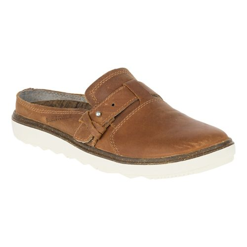 Womens Merrell Around Town Slip On Casual Shoe - Brown Sugar 5.5
