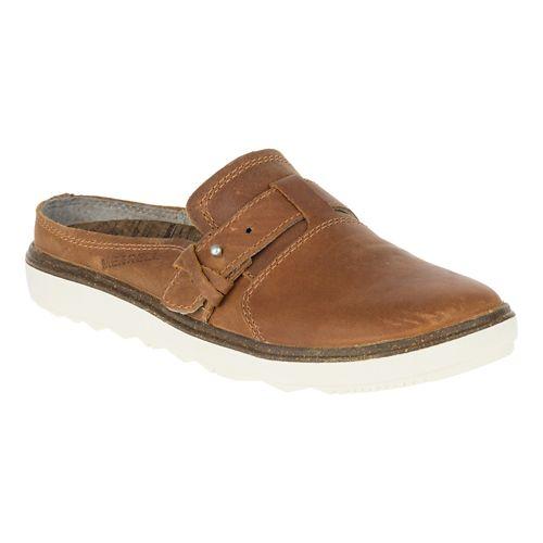Womens Merrell Around Town Slip On Casual Shoe - Brown Sugar 6.5